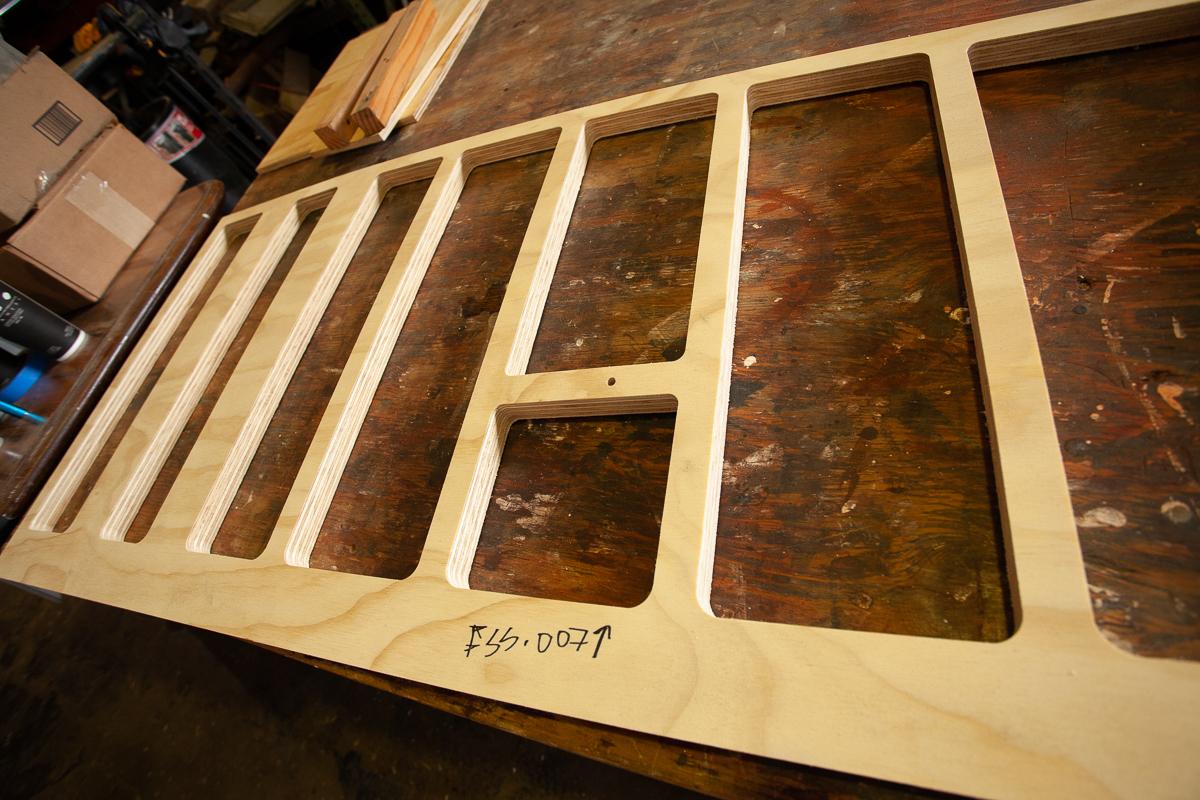 Wood cut designs