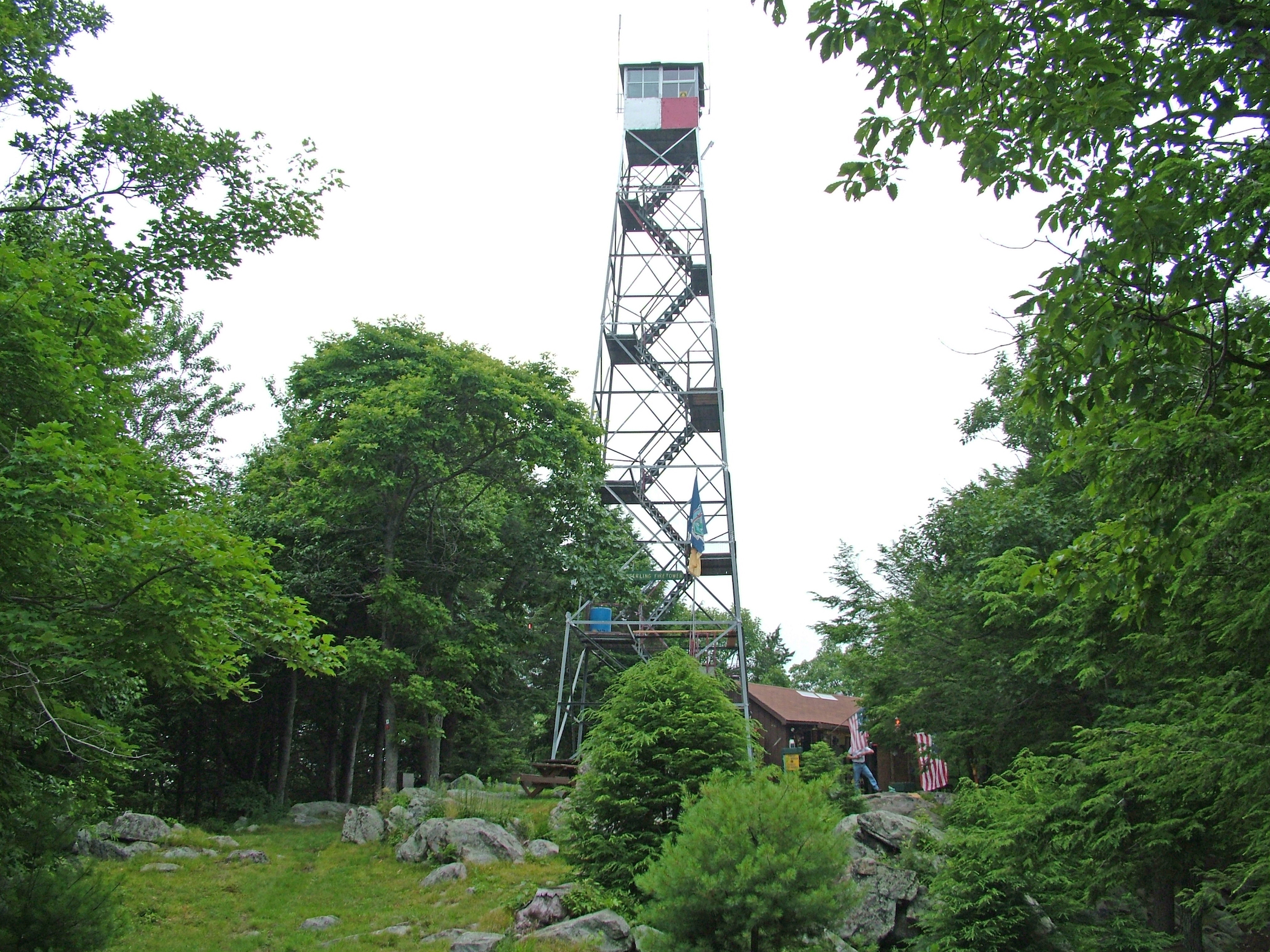 The Sterling Fire Tower, Sterling Forest State Park.