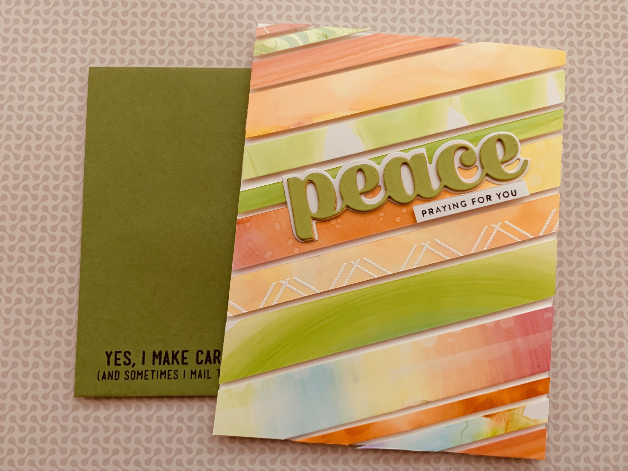 Using Scraps to Make Cards|positively jane