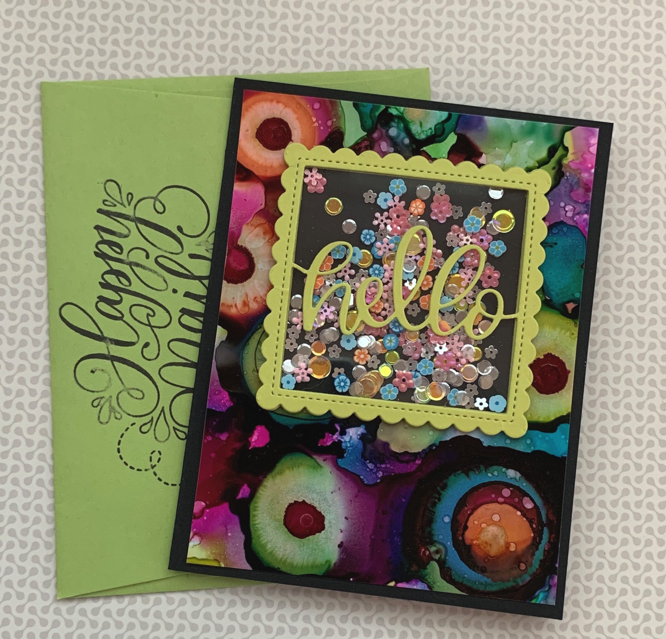 shaker cards with shaker dies|positively jane