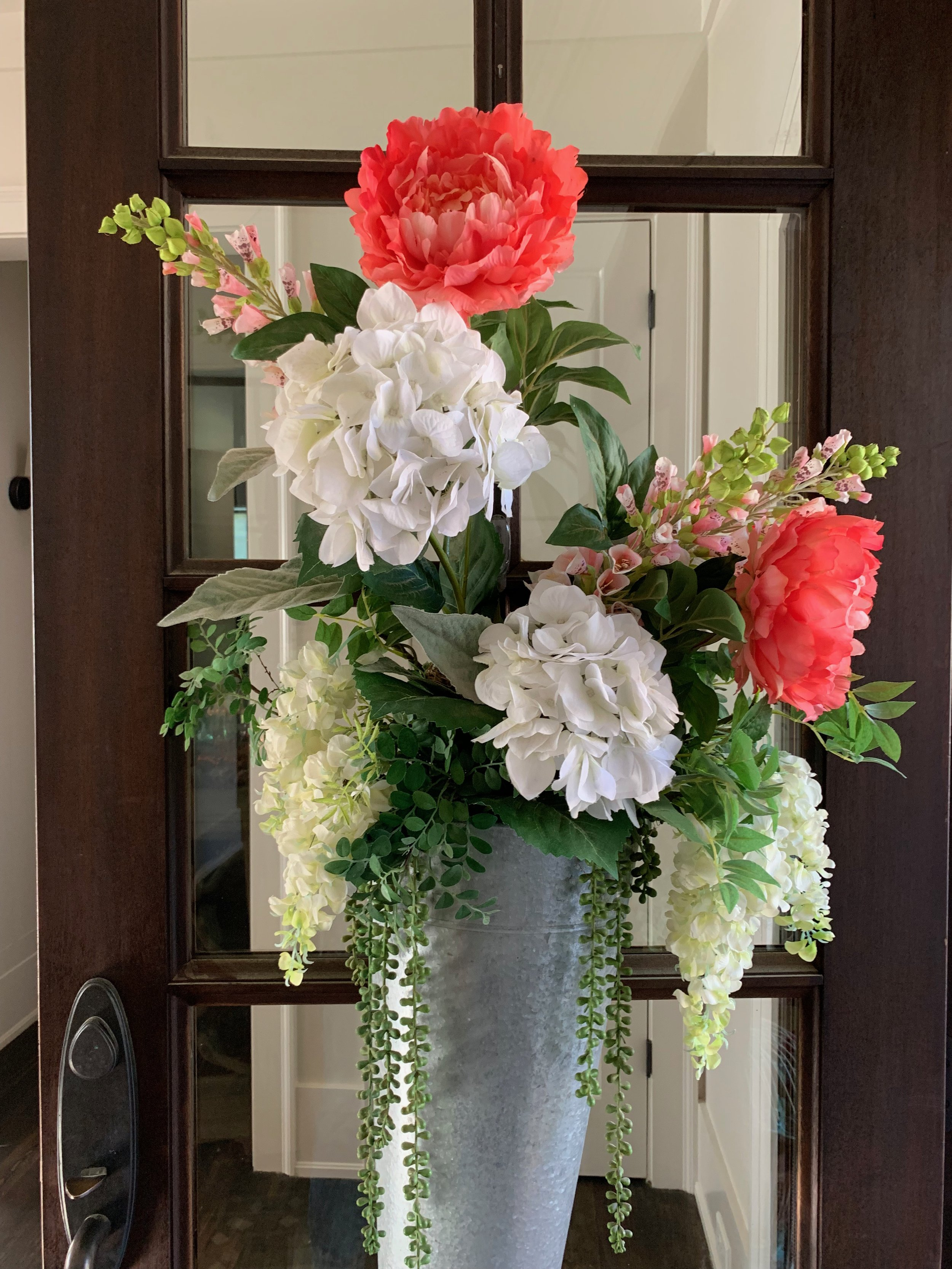 The front door arrangement