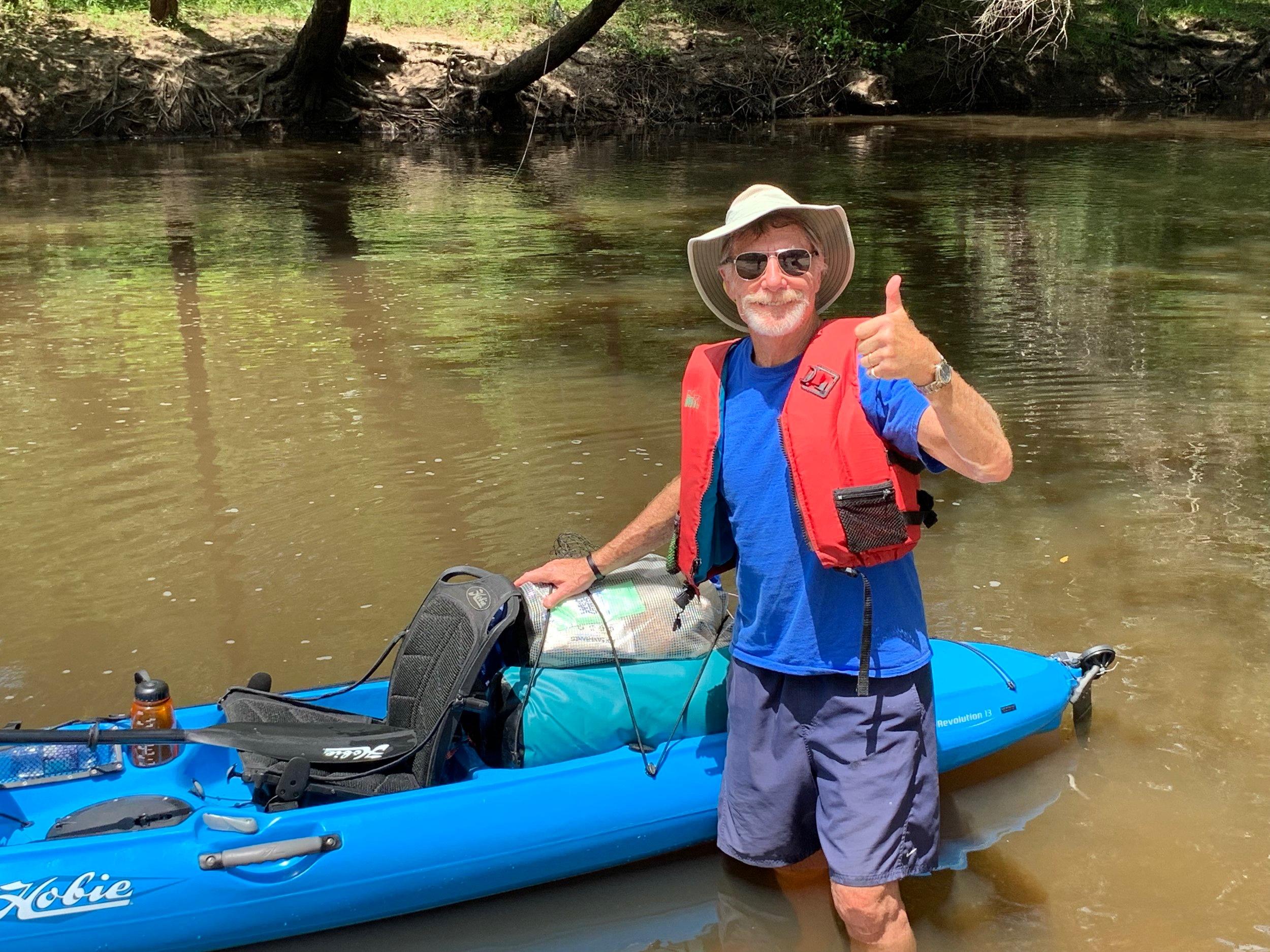 A Man's Kayaking Trip alone|positively jane