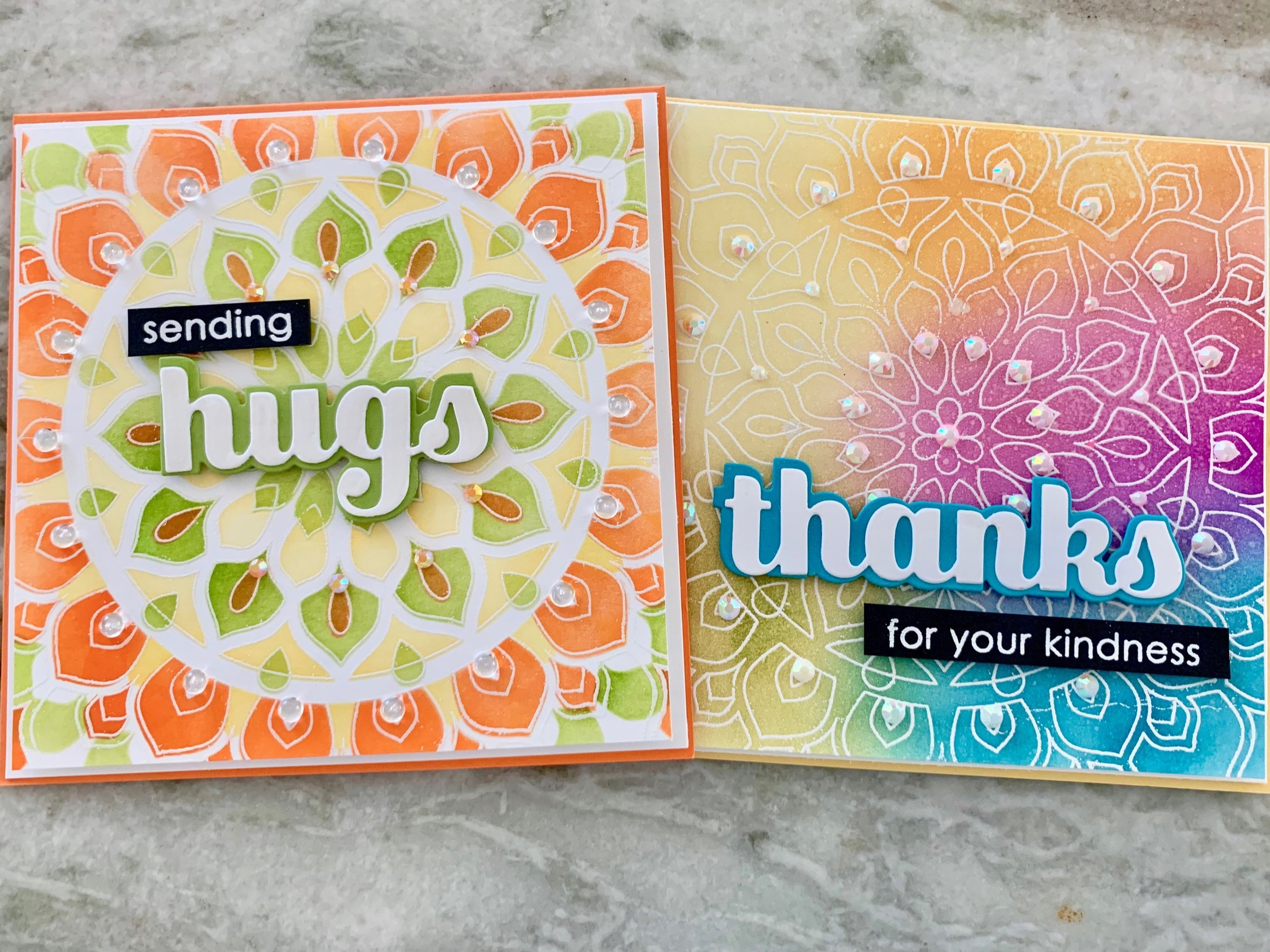 birch press Mandala cards | Positively jane