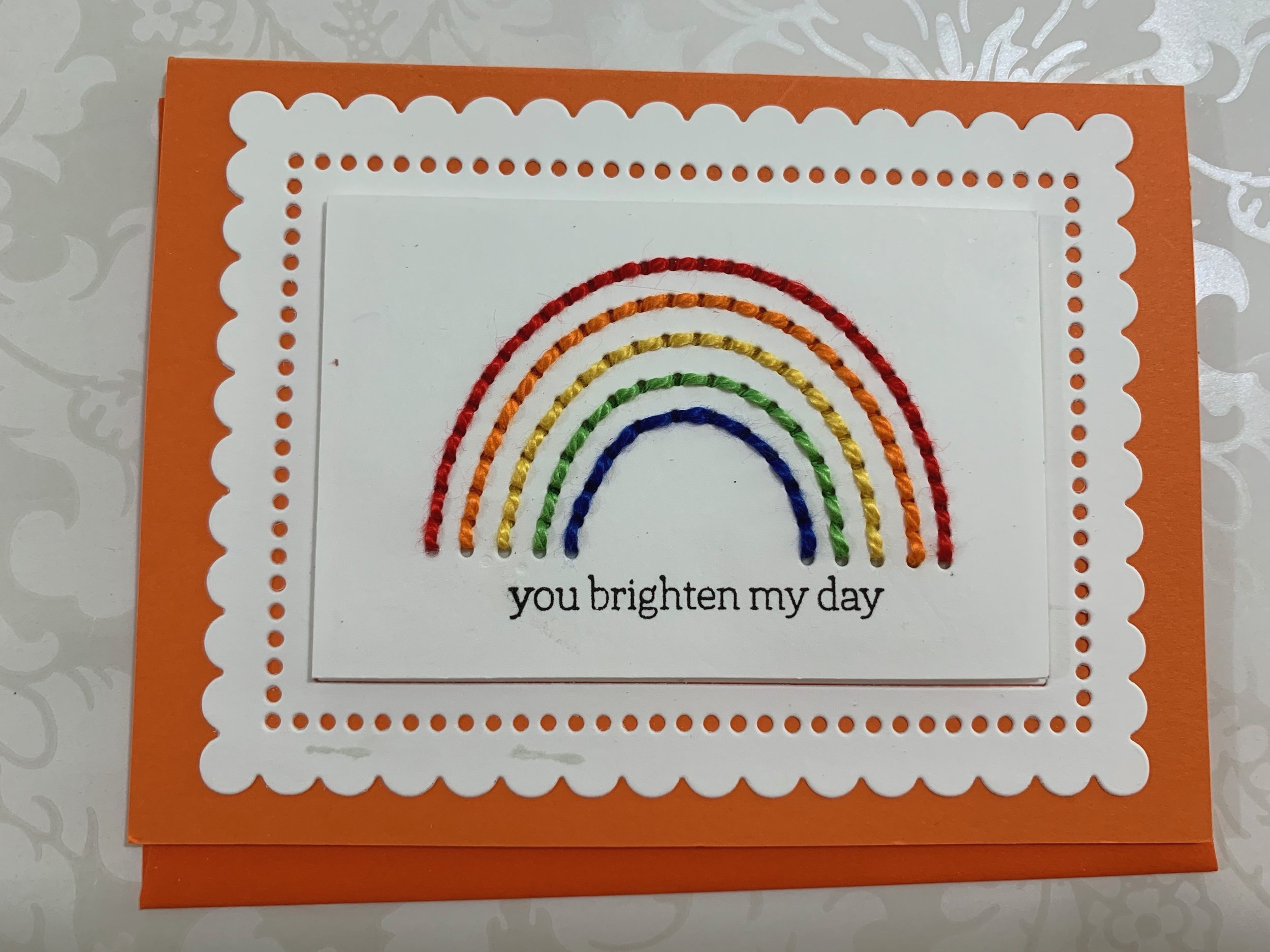 the stamp market hellos & rainbows |positively Jane