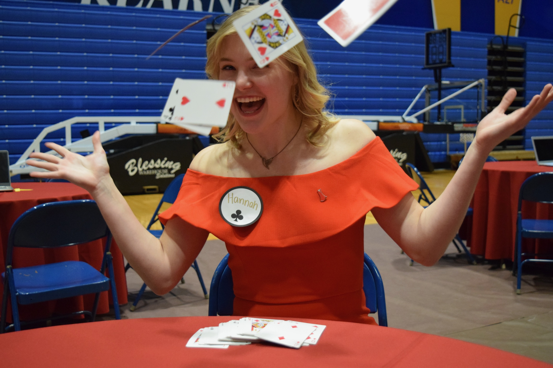 Philanthropy - Alpha Phi holds two philanthropys each year, our King of Hearts male pageant and our Red Dress Poker Tournament. Each event being popular to students on campus and to the Kearney Community. Alpha Phi's national philanthropy is Women's heart health and we pride ourselves each year in the donations we are able to give back to this cause.