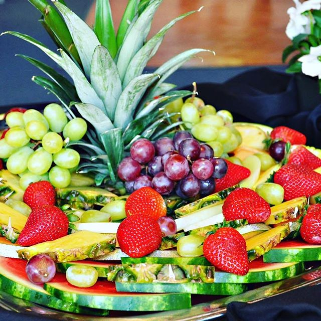 Delicious fresh fruit plates  #catering #caterer #northshore #Boston #food #vegan #clambakes #BBQ #wedding #foodporn #gourmet #events #foodie #tapas #party #chef