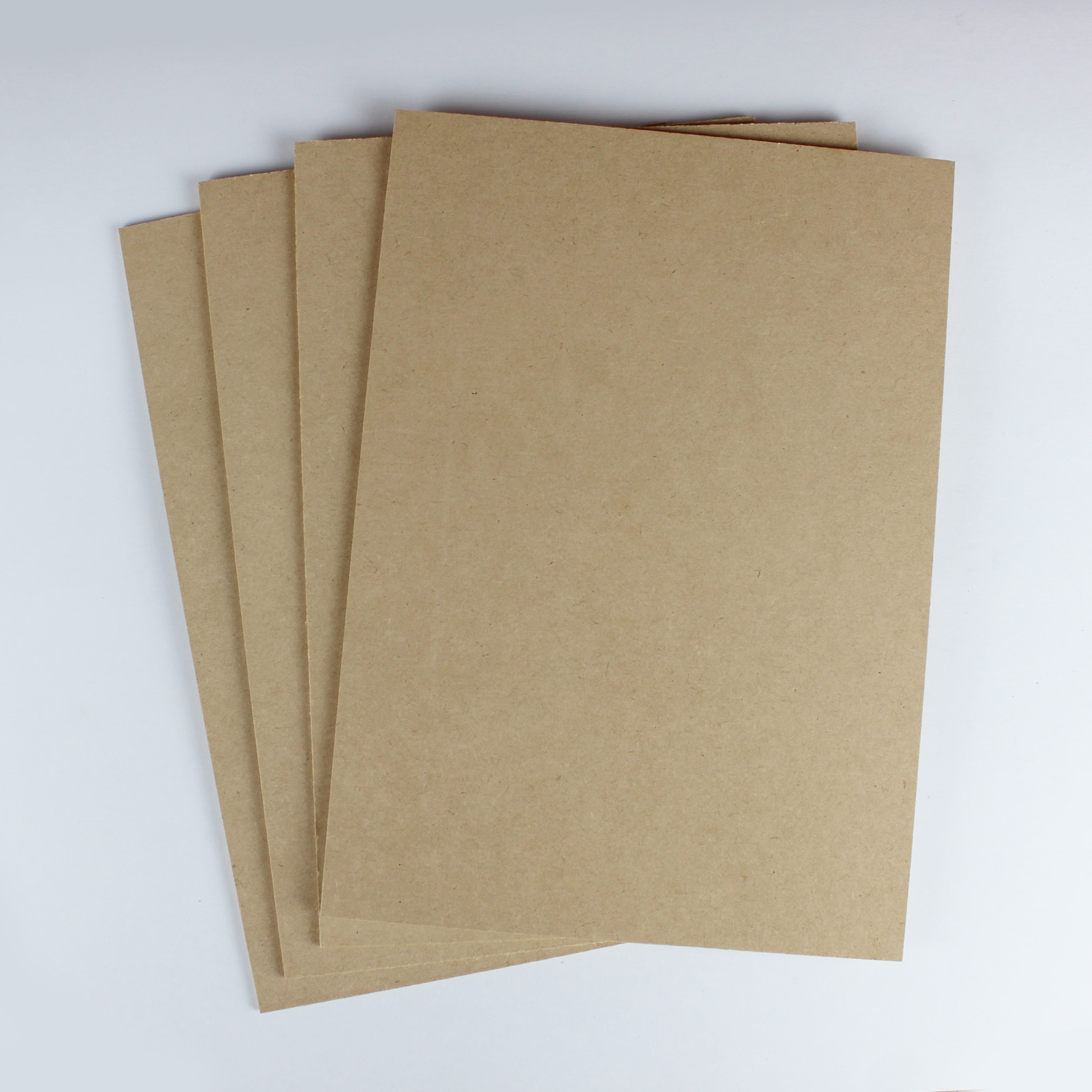 MDF - Perfect for woodcuts, these sheets of 3mm MDF are machine cut so are uniform in size.