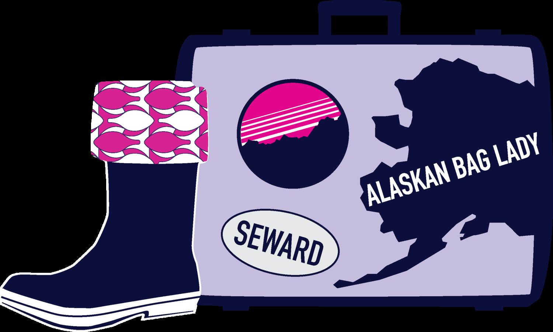 The Alaskan Bag Lady, Seward, Alaska