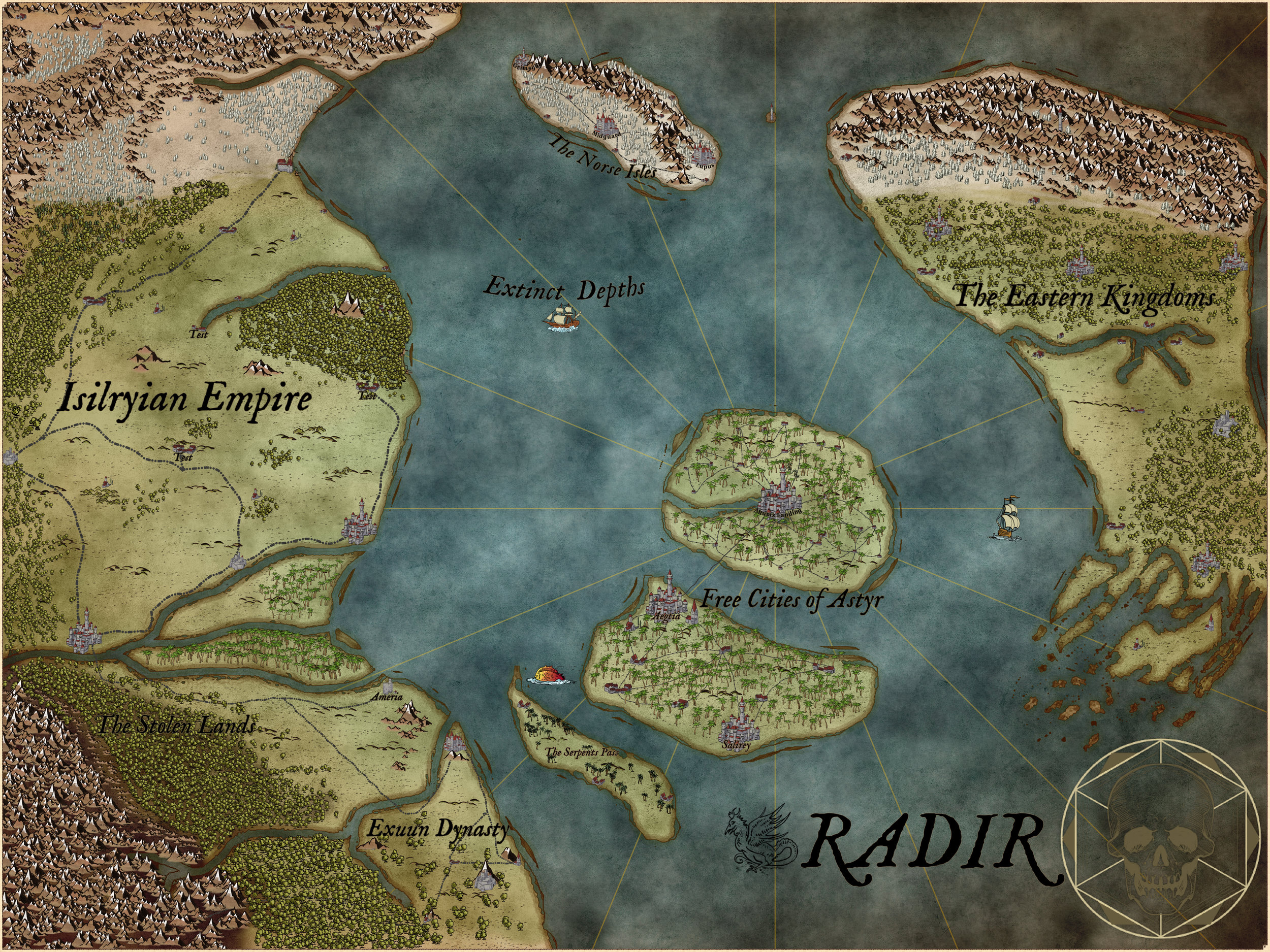 Lore — Radir Chronicles