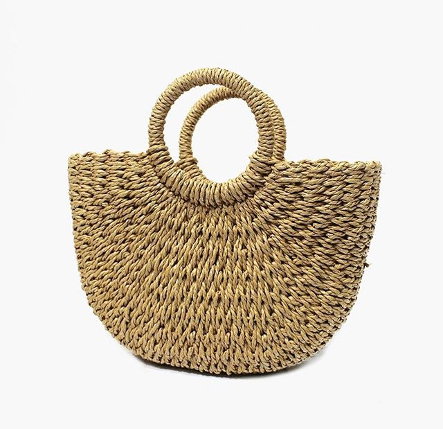☆ The Summer Straw Tote ☆