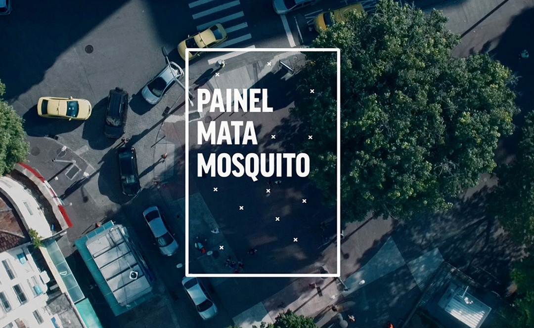 Painel Mata Mosquito  Posterscope