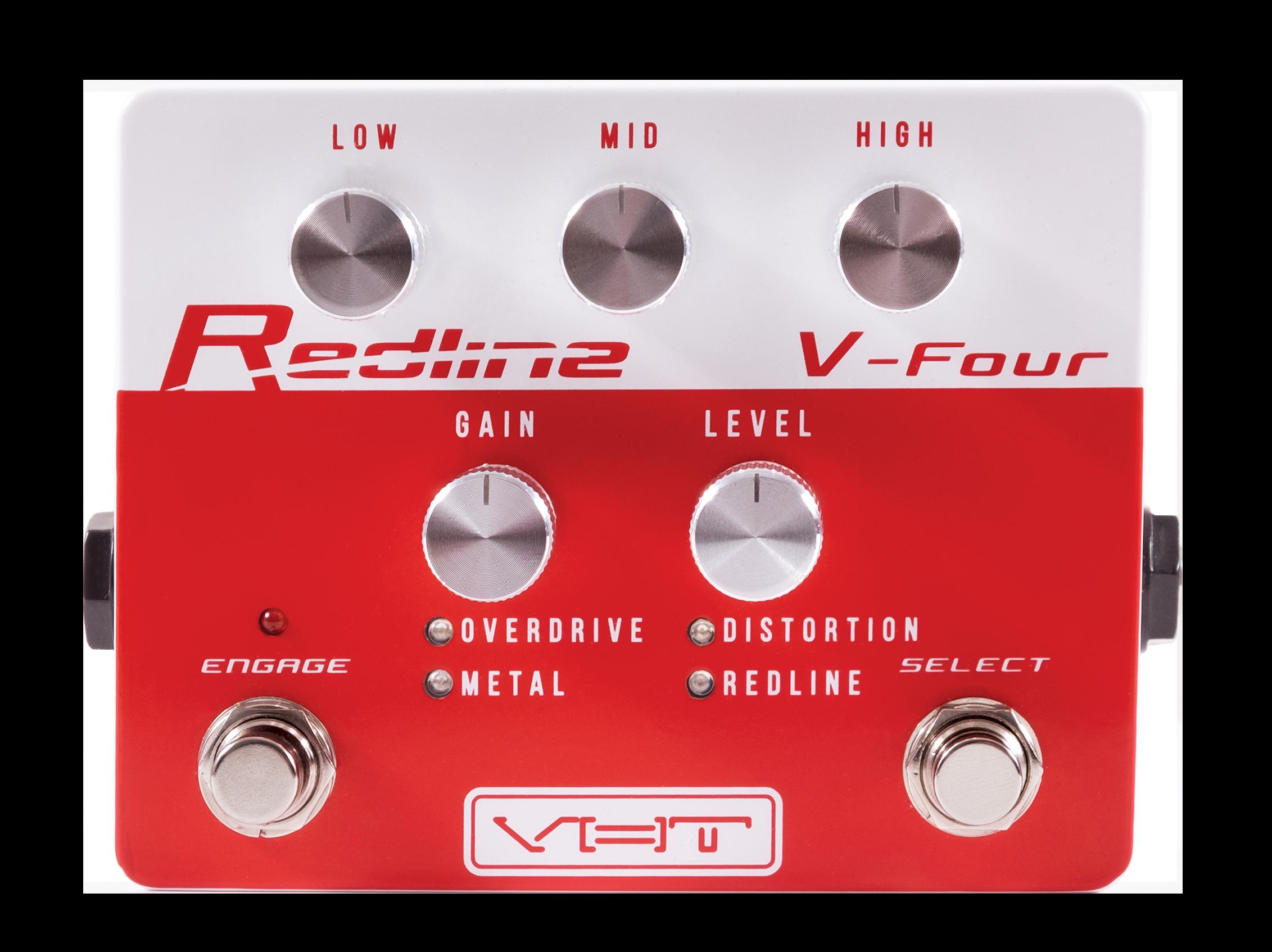 Redline V-Four - Overdrive Pedal