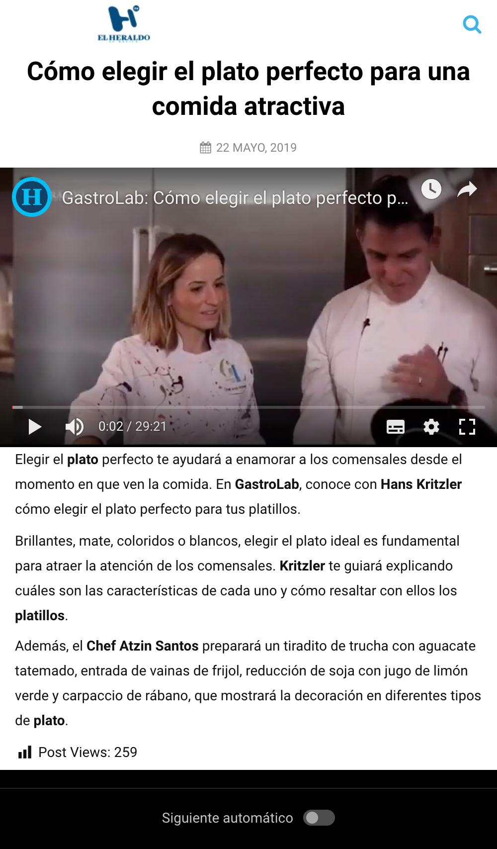 """""""GastroLab"""" del El Heraldo de México"""