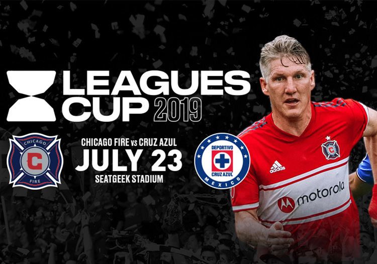 Leagues Cup 2019 - Chicago Fire Vs. Cruz Azul - Tuesday, July 23, 2019 • 8:00 PM 11:00 PM