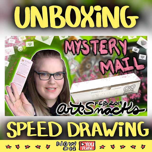 I had some stuff to say about the February #ArtSnacks '19 box! (Mostly, just how much I loved the white pen and pastels. 😍) It was nice making a public video again. Also, I low key am proud of this thumbnail. 😁 ••••• Video link in my profile! ••••• #art #artsnacks #artsnackschallenge #unboxing #artvideo #speeddrawing #youtube #softpastels #whitepen #kneadederaser #artsupplyreview #madebyemk