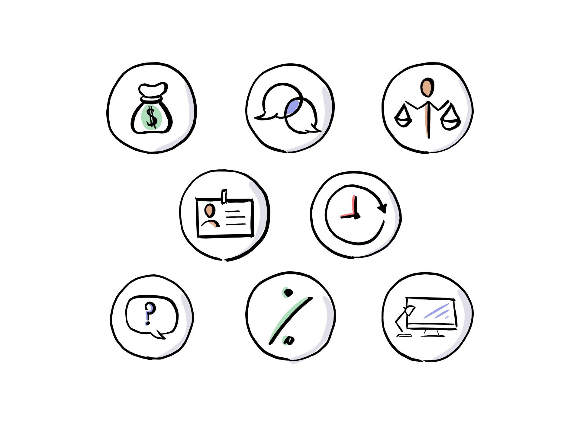 Illustration Icon Design UI    Mangrove