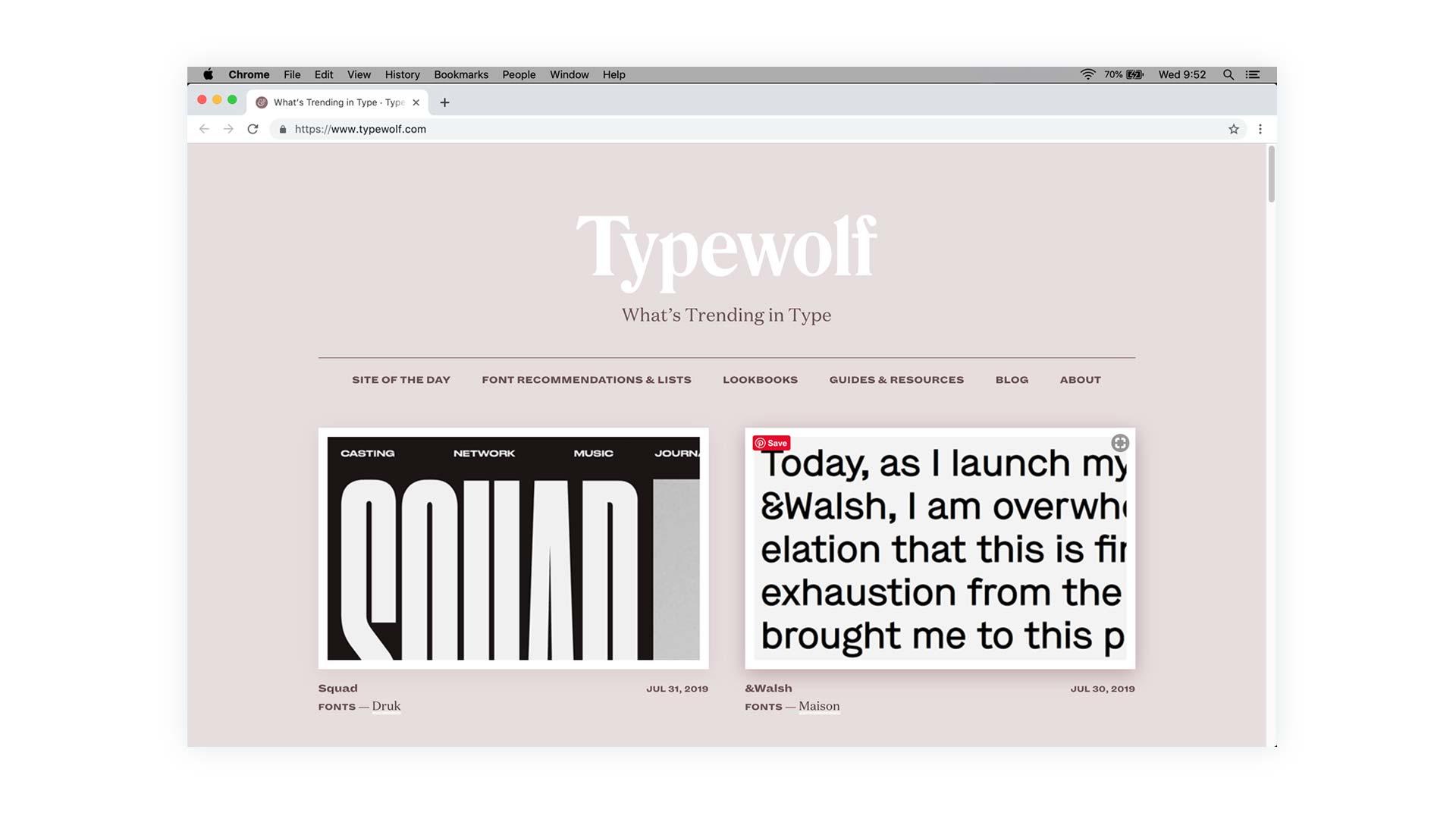 Typewolf.com