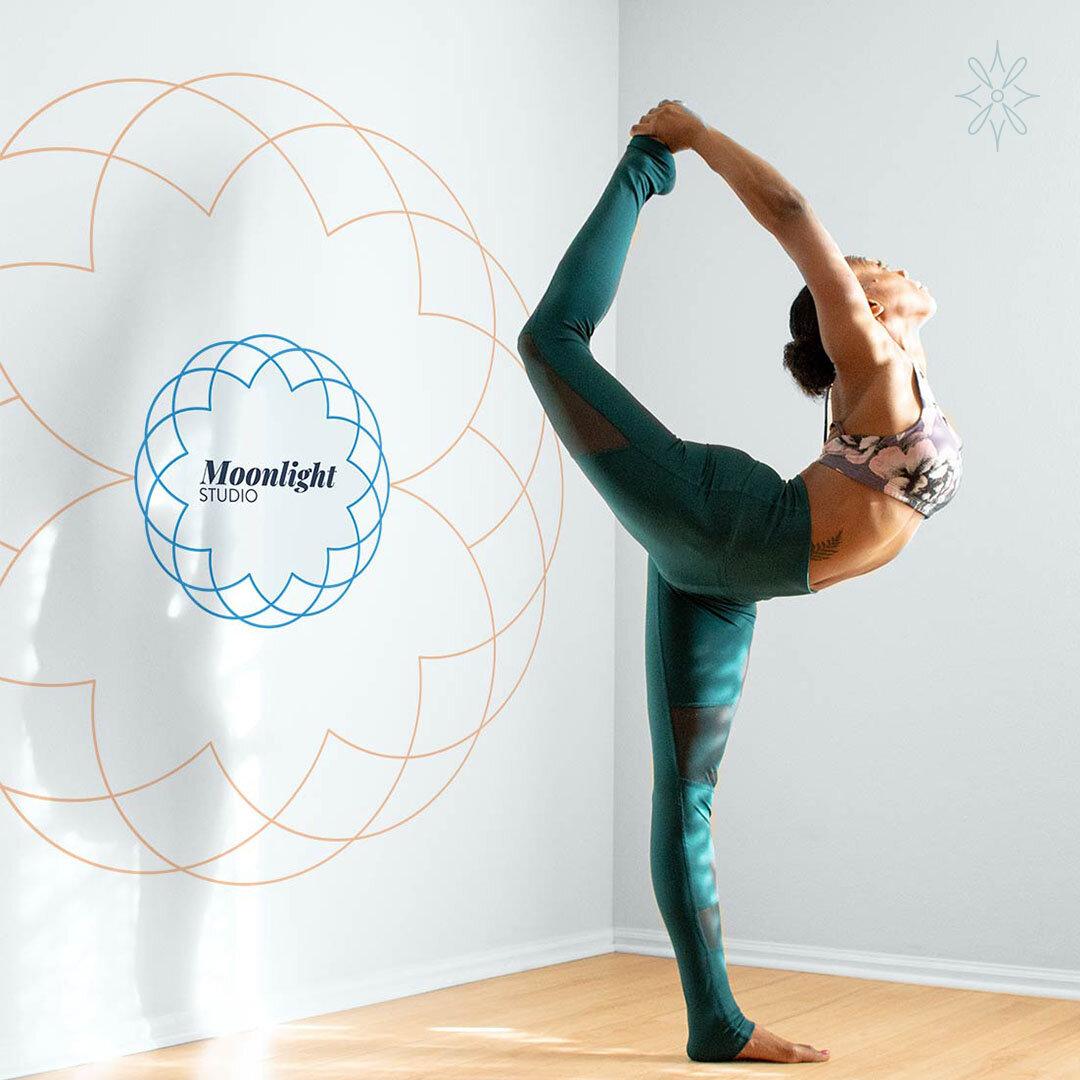 Yoga Studio Branding Logo Design