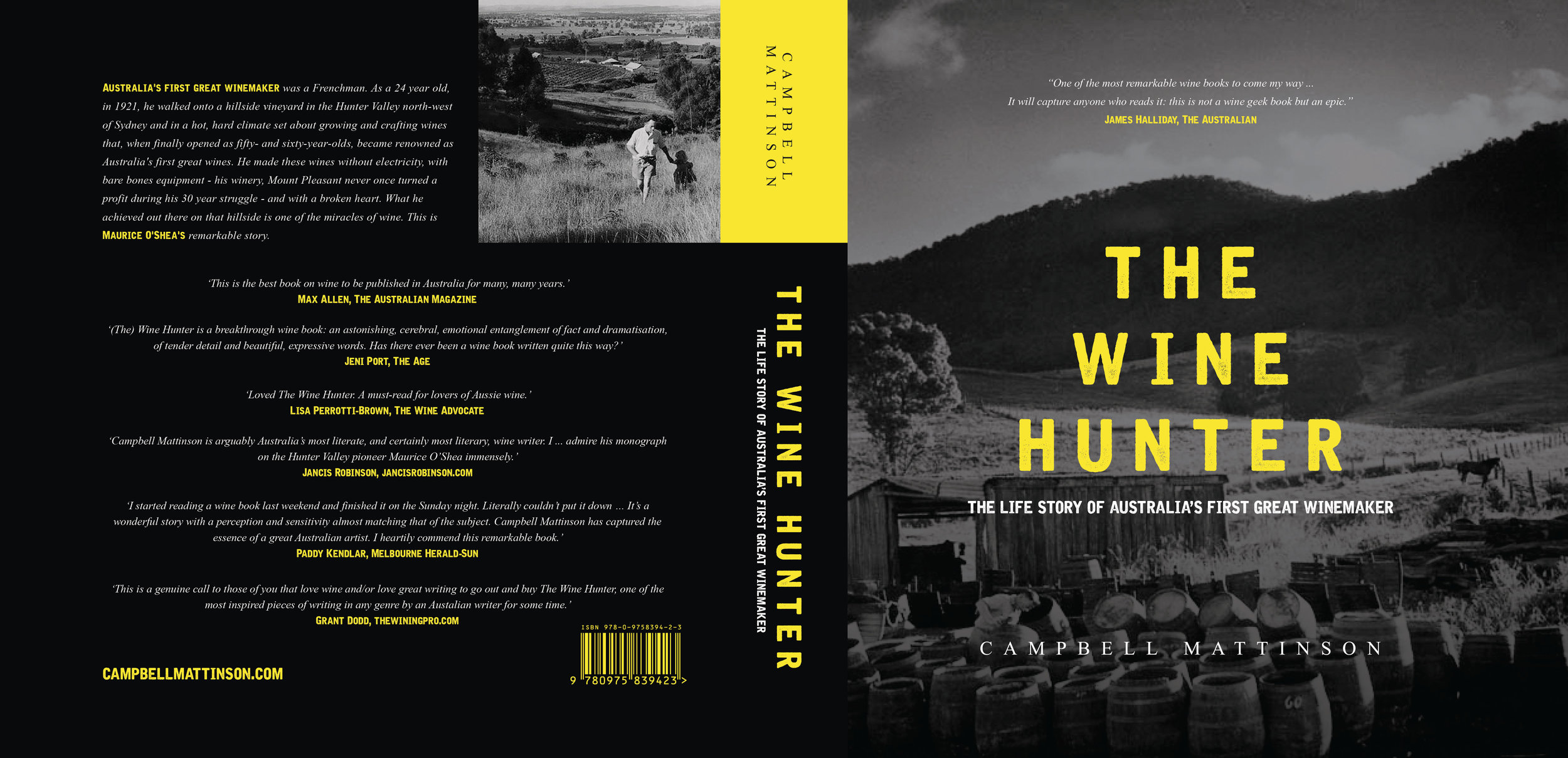 The WINE HUNTER: The Life Story of Australia's First Great Winemaker, Maurice O'Shea
