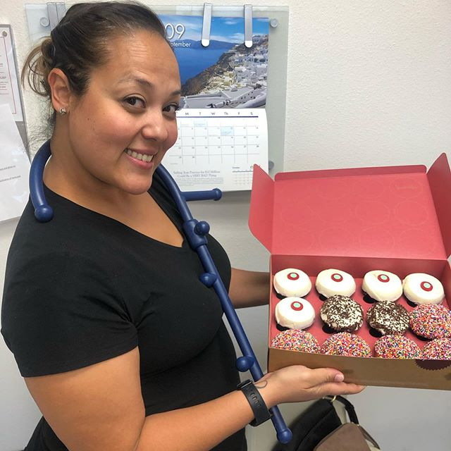 Happy 21st Birthday to our very own Christina!  She's worked with doc for almost 10 years, and we are very fortunate to have a dental assistant like her as a part of our family.  #theracane . . . #desertinnsmileslv #lasvegasdentist #summerlin #summerlinlv  #downtownsummerlin #thelakeslasvegas #desertbreeze #dentalimplants #implants #teeth #vegasstrong #cosmeticdentistry #lasvegas #lasvegaslocals #family