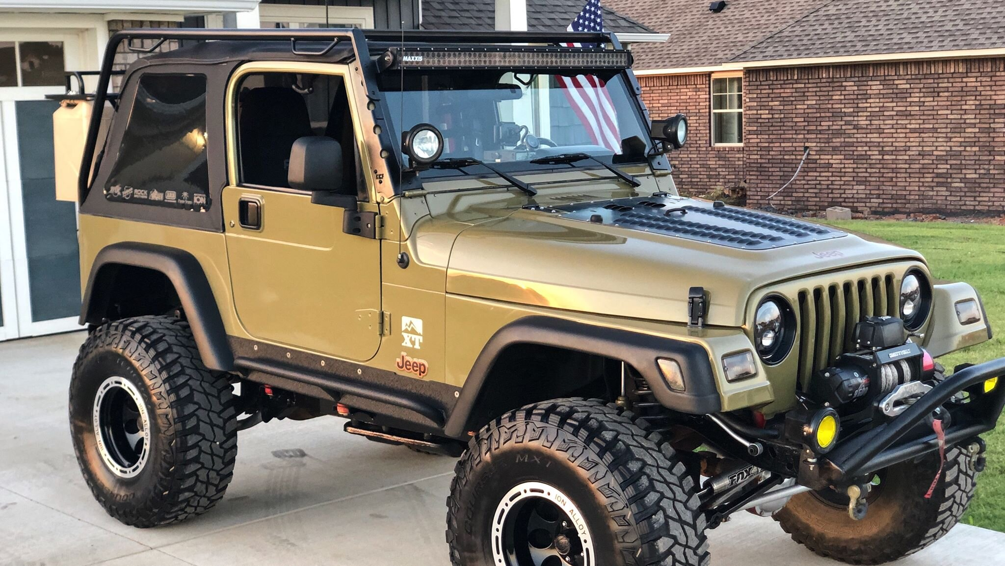 Jeep Tj Low Profile Rack Welding And Fabrication Wilder Solutions Northwest Arkansas