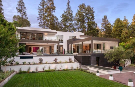 Parkland Residence MGS architecture Beverly Hills California modern