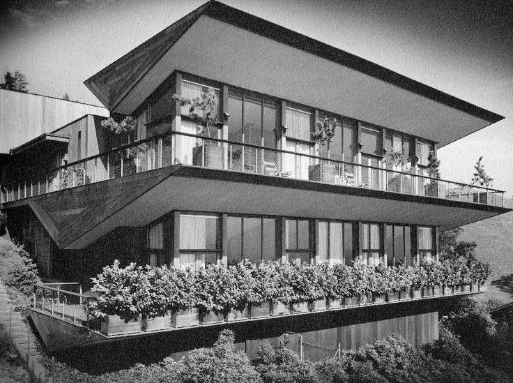 Harwell Hamilton Harris House circa 1940. Photo by Maynard Parker