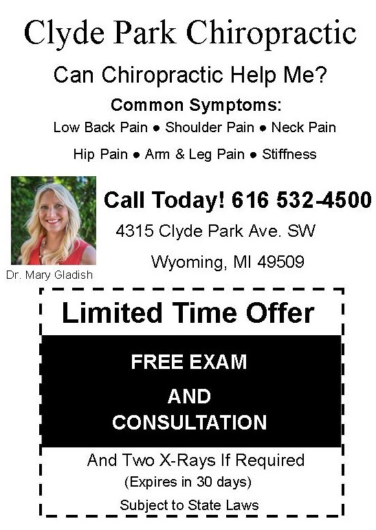 Coupon Free Examination/X-ray