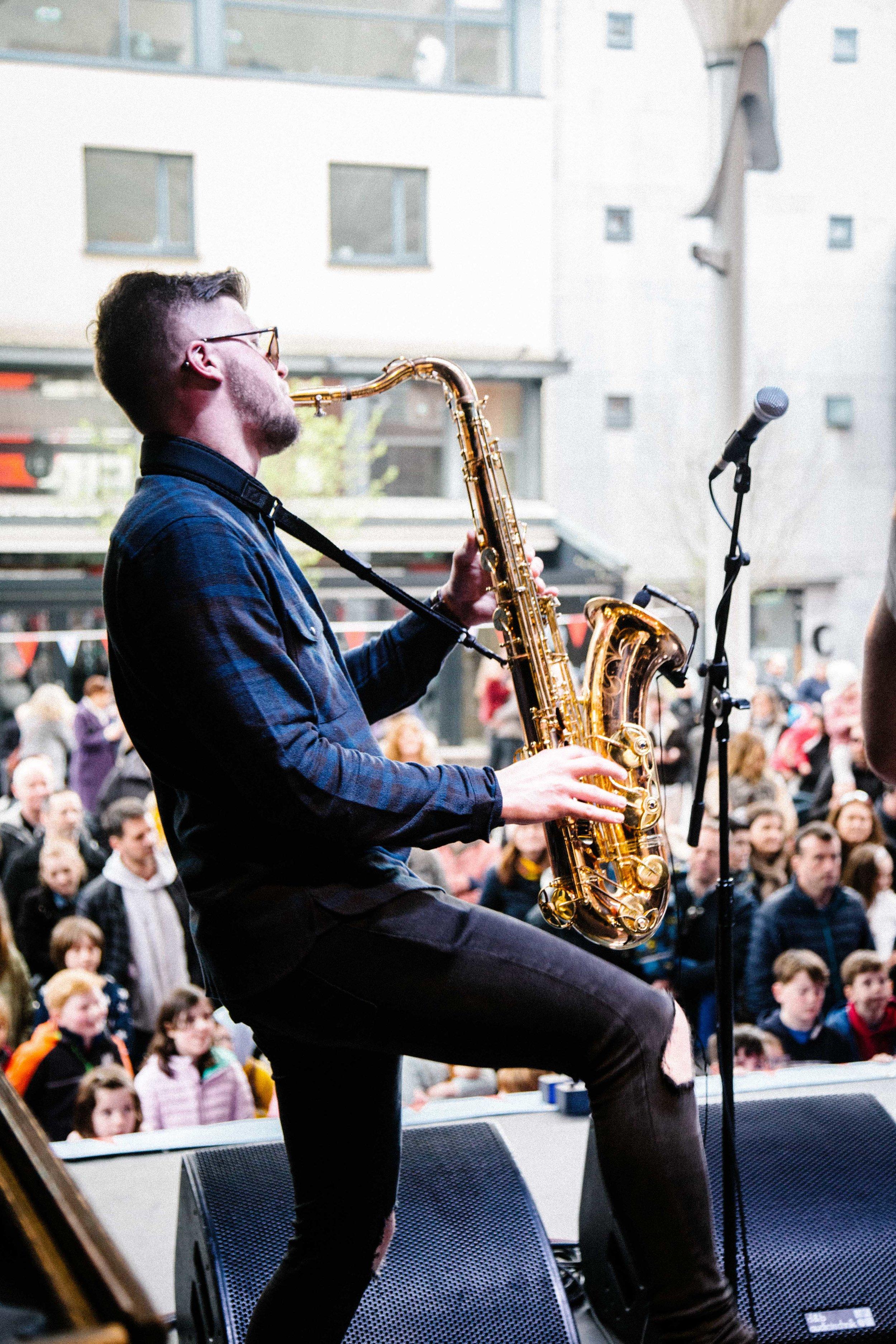 Stomptown Brass - Sax