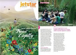 Jetstar Asia, Jul/Aug 2018: Natural healing