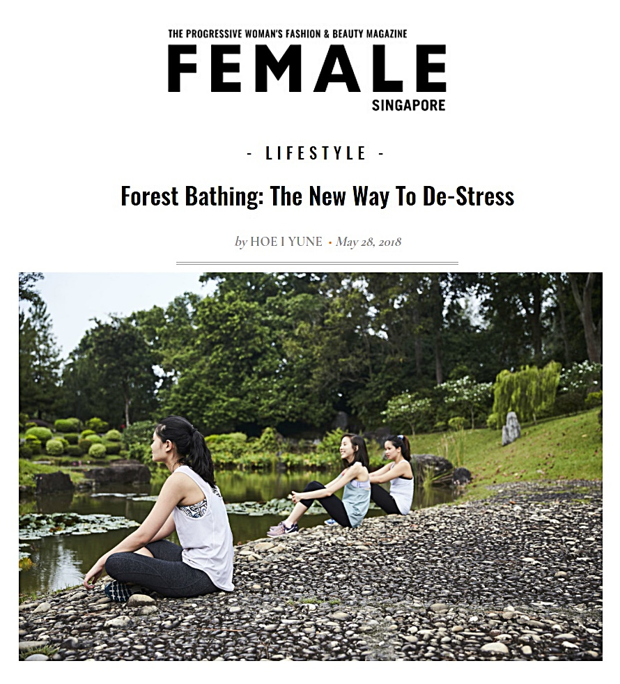 Female, May 2018 | Forest bathing: the new way to de-stress