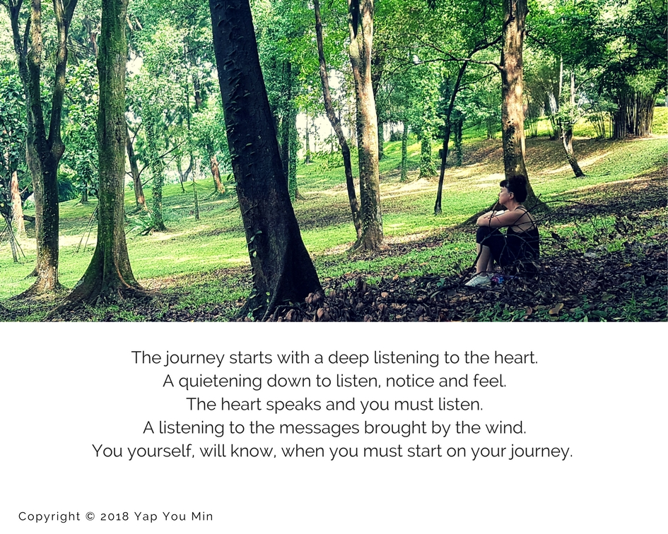 Nature connection story: Listening to the heart