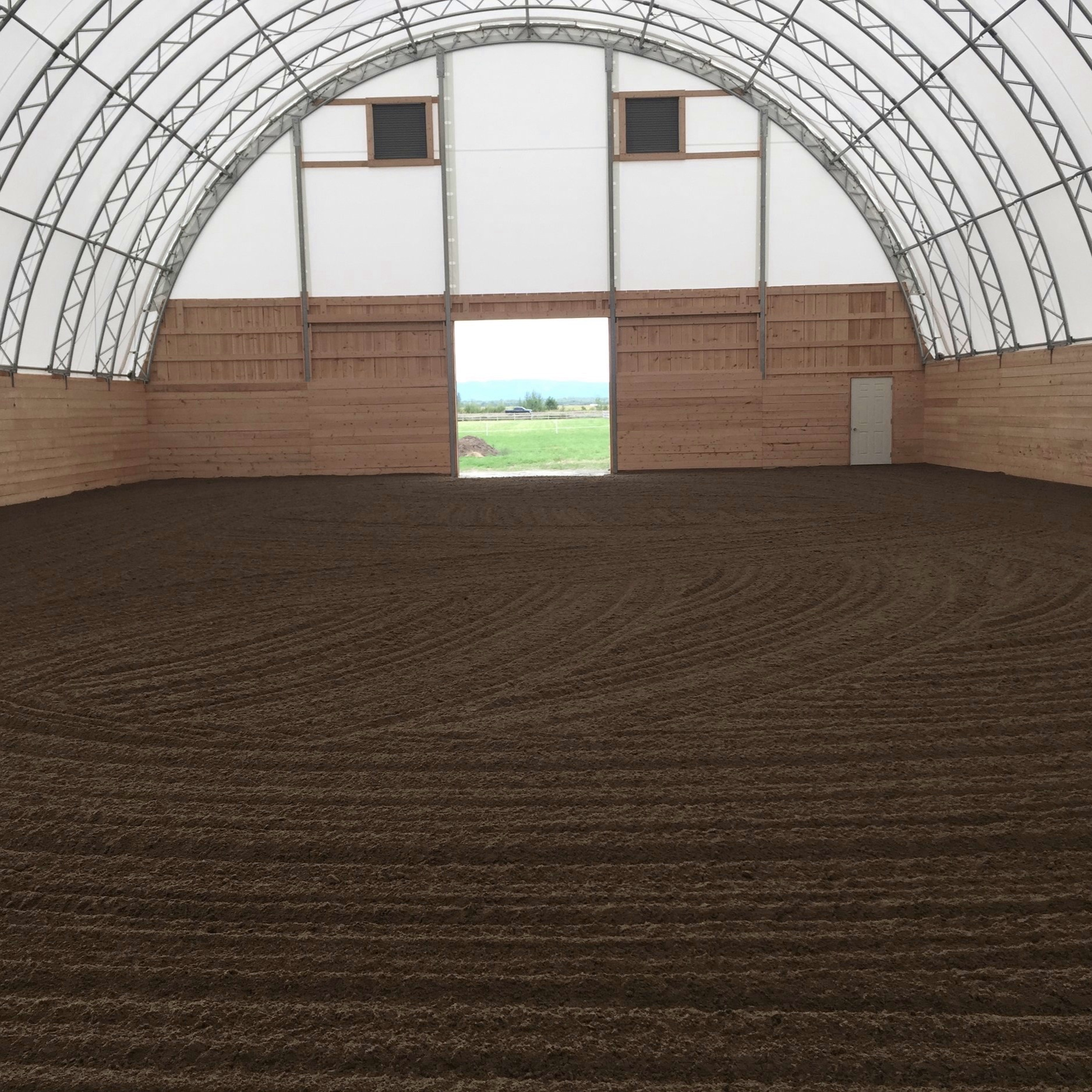 Equestrian Riding Arena Construction