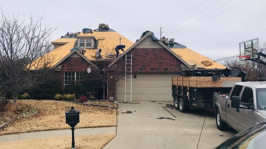 Roof Replacement - Let us work with you to protect your house for years to come with our roof replacement program.