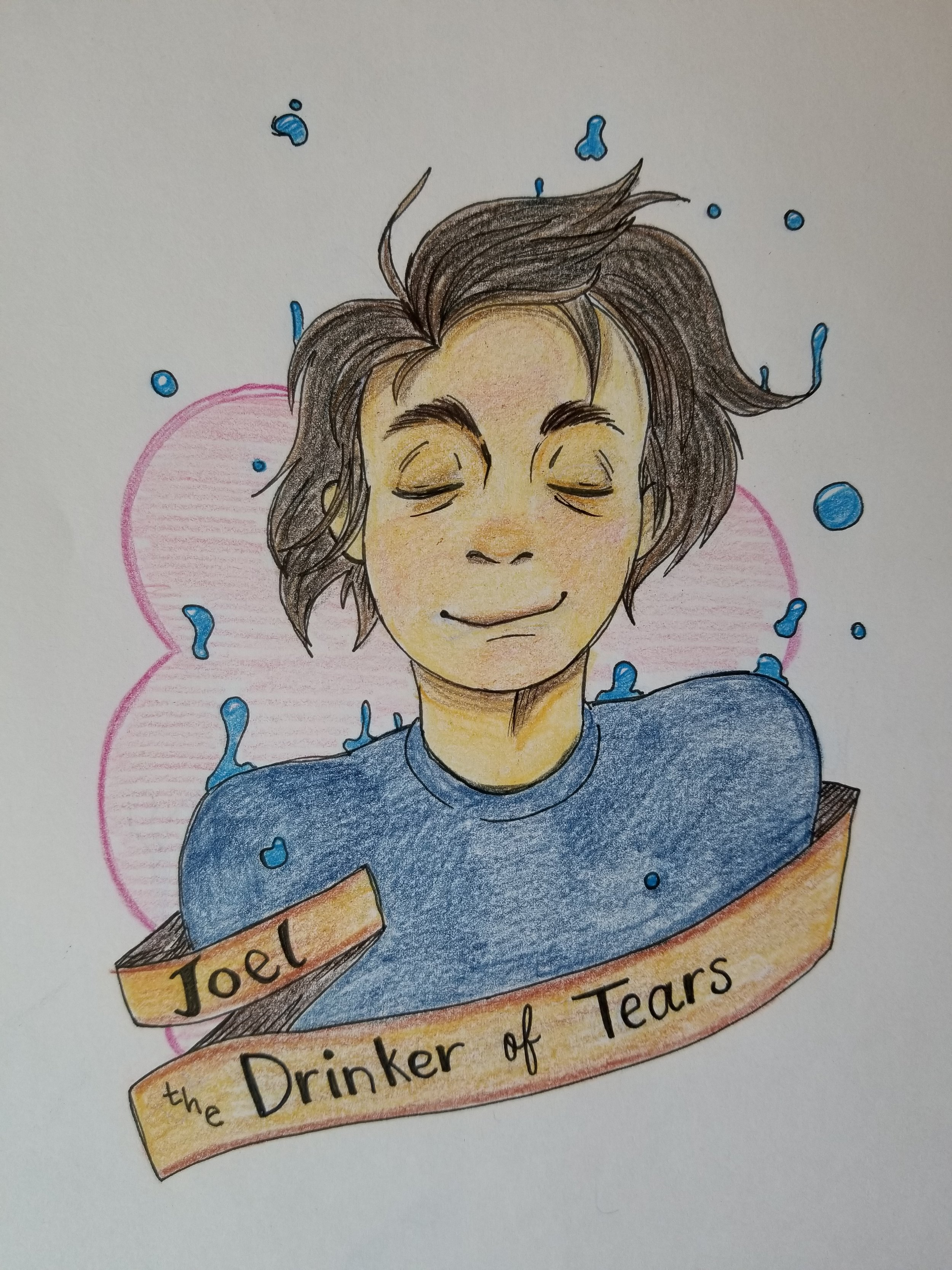 Joel the GM and Drinker of Tears - by Gigi