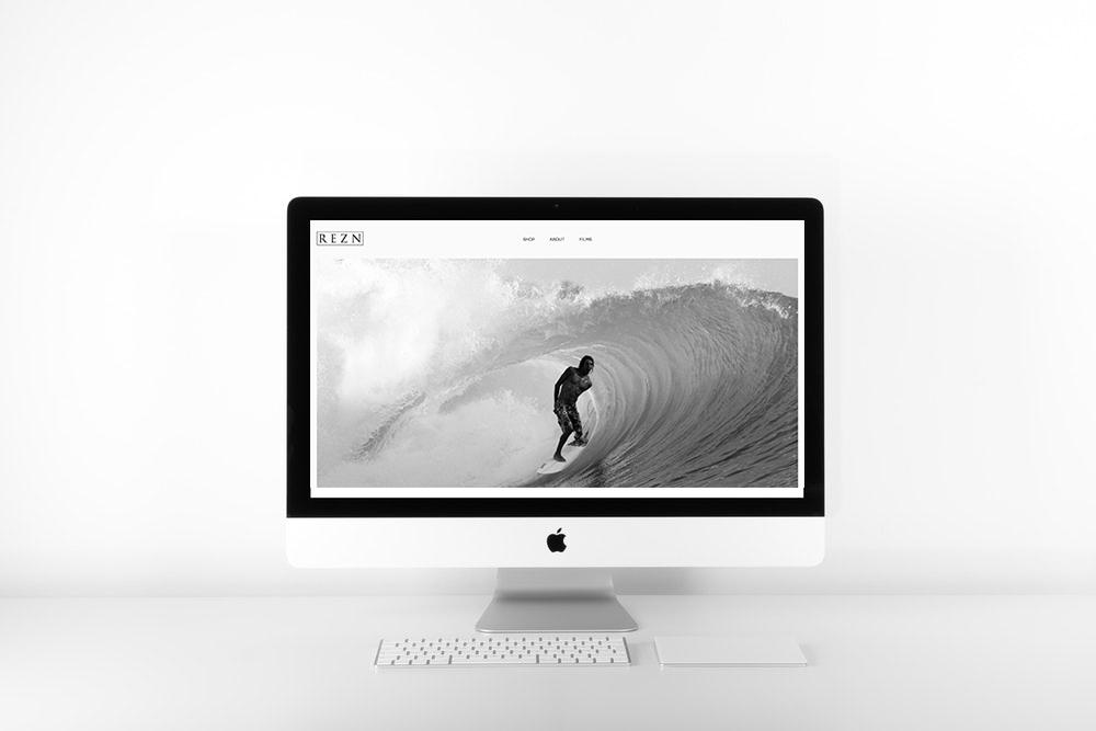REZN EYEWEAR | SQUARESPACE WEB DESIGN