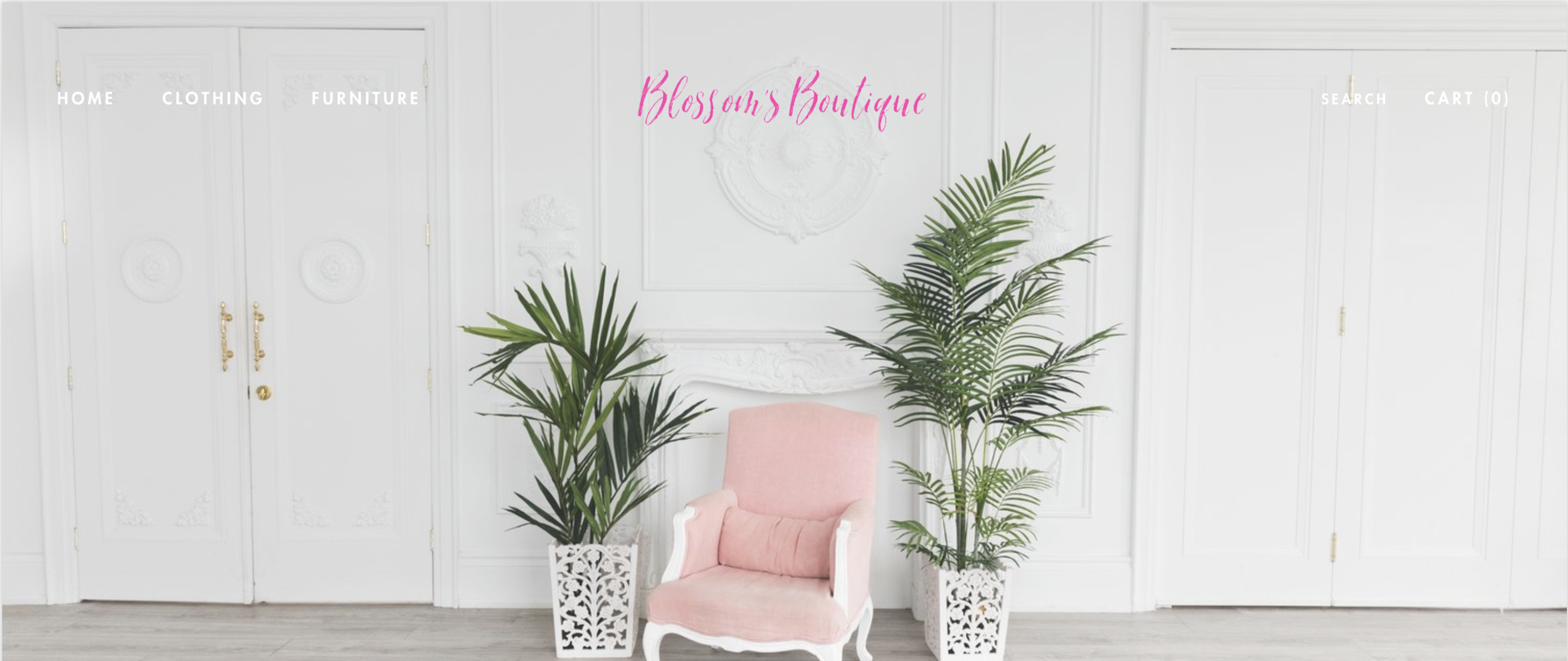 Shopify website design for Blossom's Boutique.png