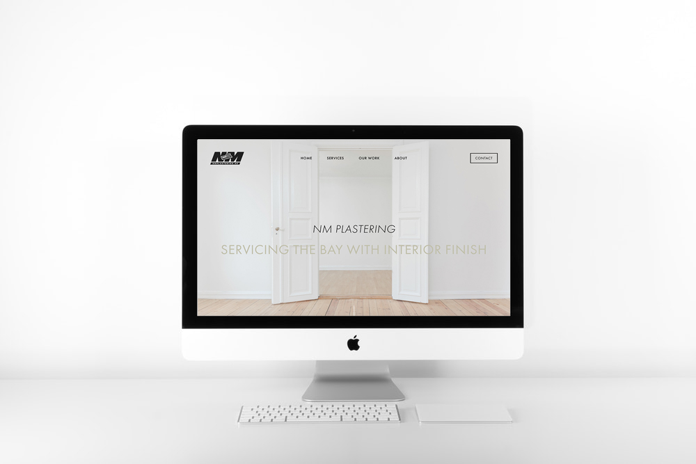 NM PLASTERING | SQUARESPACE WEB DESIGN