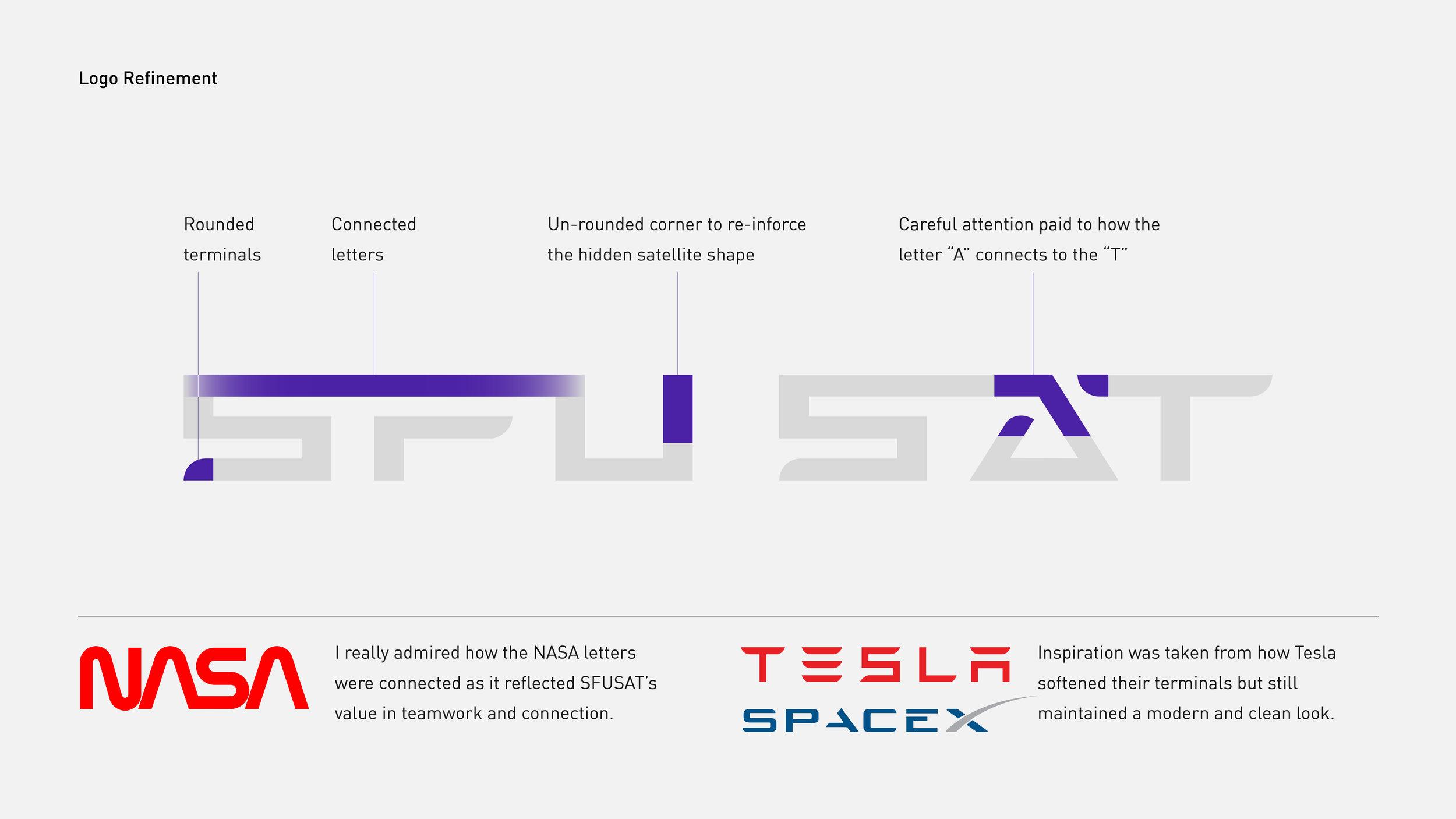 SFU Satellite Design Team | Branding — Tracy Chen