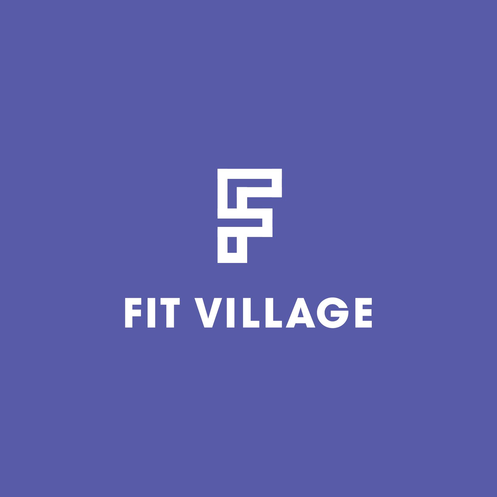 Fit Village Logo Purple