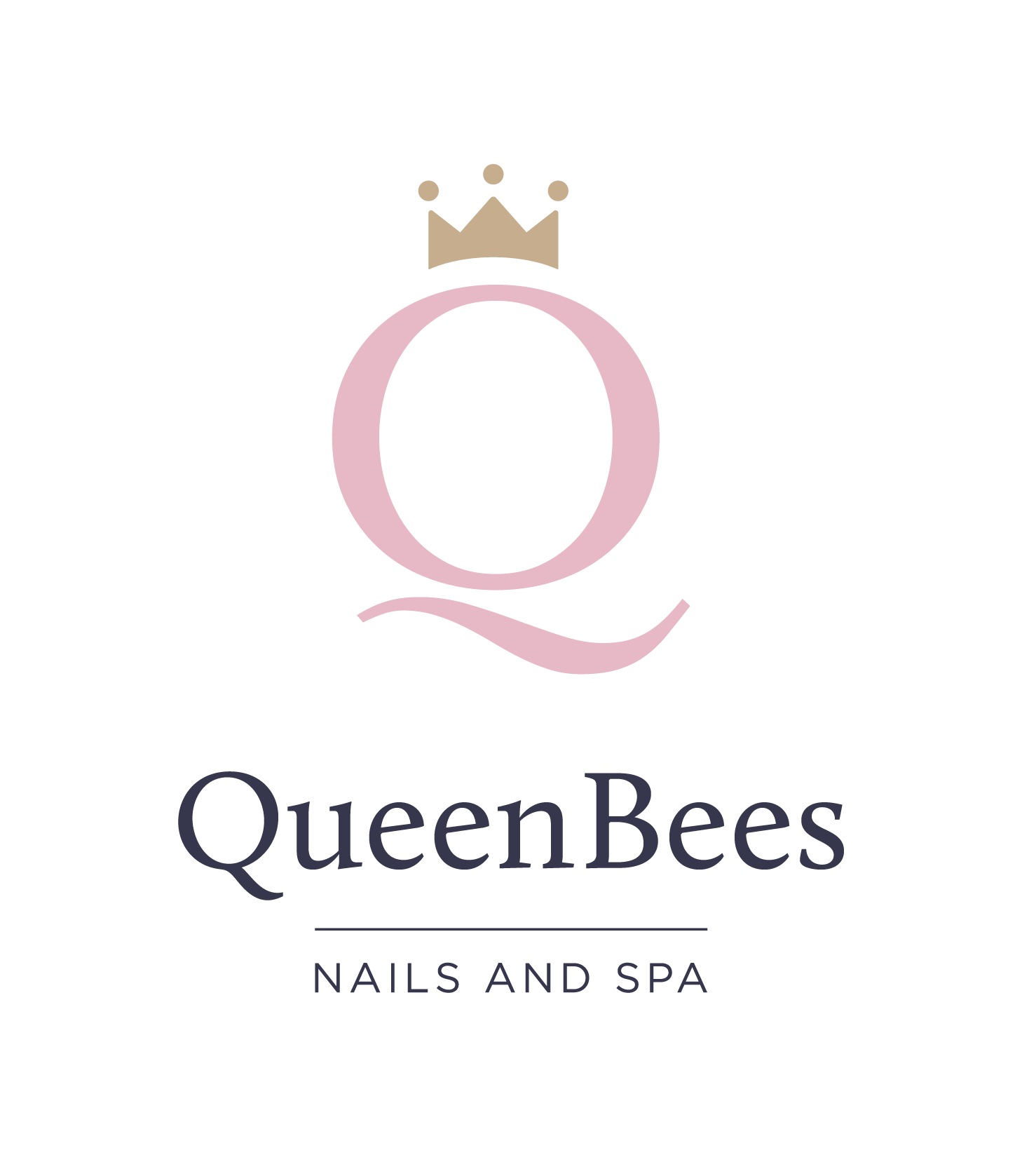 Logo Nails and Spa white background