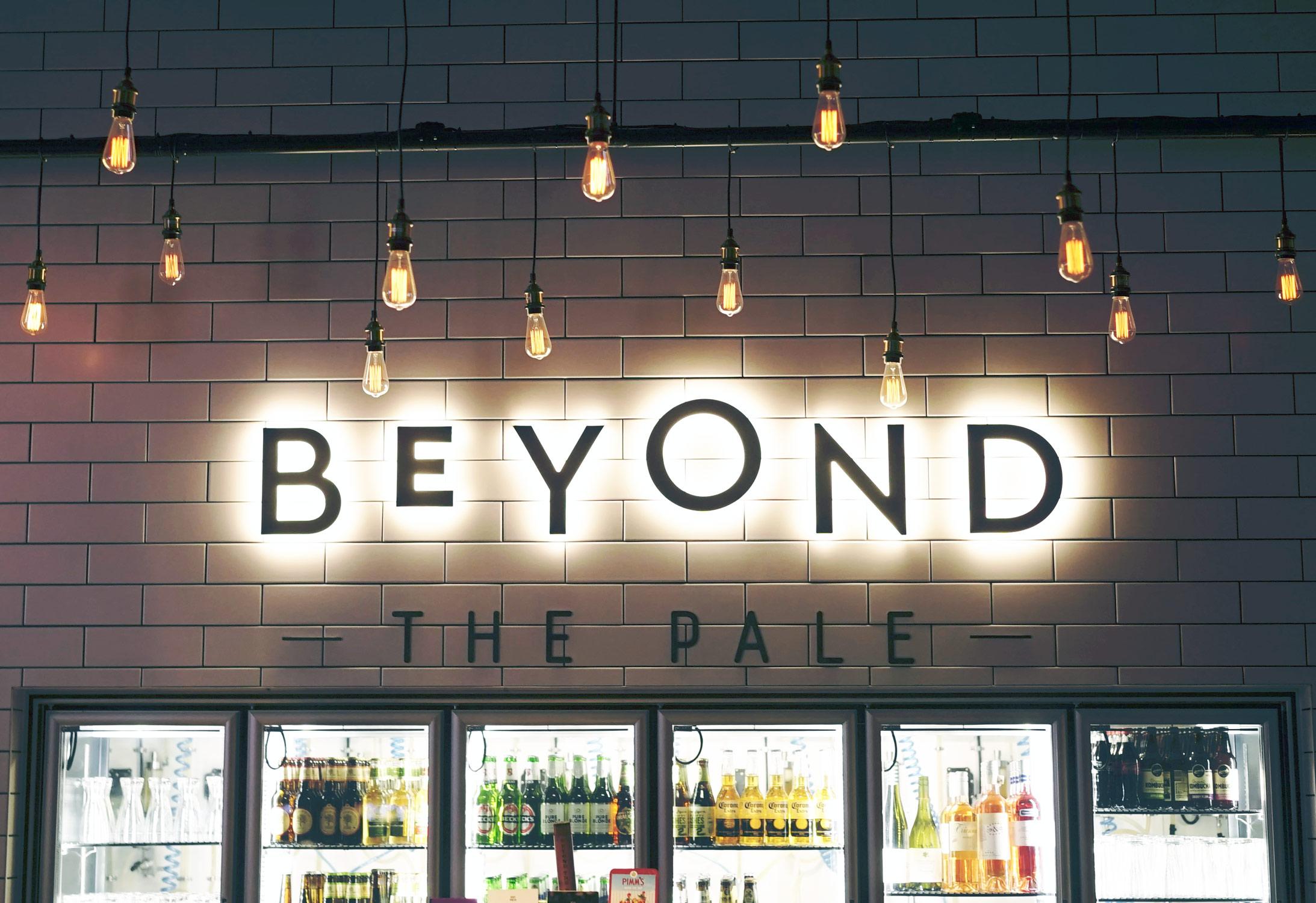 BeyondthePaleBehindBar
