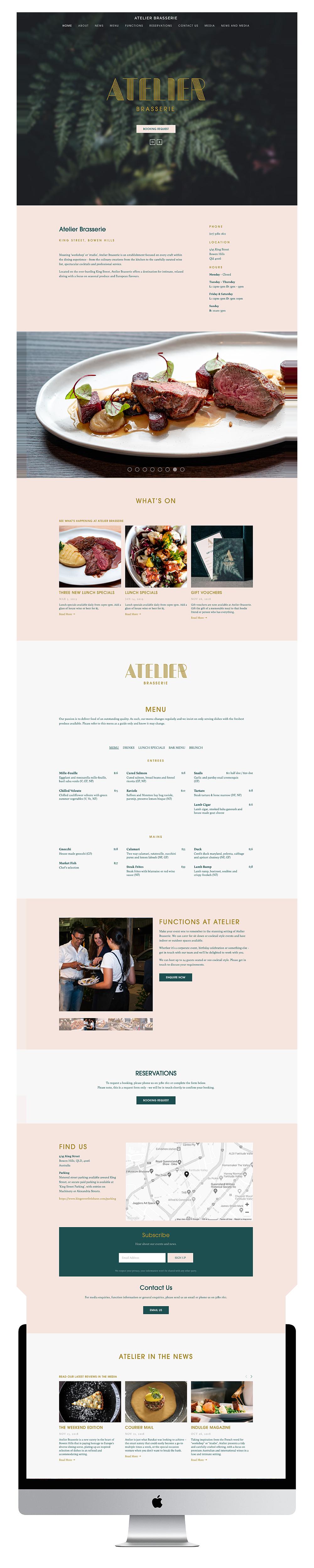 Atelier Website