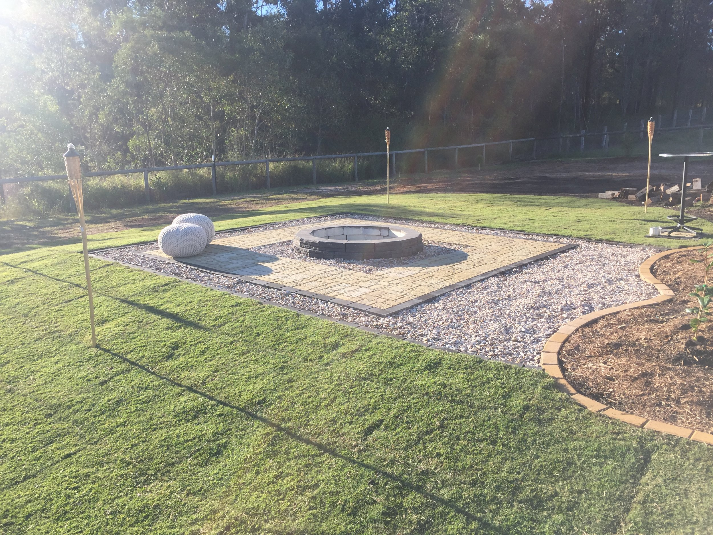 Landscaping Services - Paths and Driveways ✔️ Retaining Walls (Concrete Sleepers, Block, Stone or Timber) ✔️ Decking and Entertainment Areas ✔️ Concreting ✔️ Water Features / Pool Waterfalls ✔️ Fencing ✔️ Gardens / Soft Landscaping ✔️ Earthworks ✔️ Turfing ✔️ Paving
