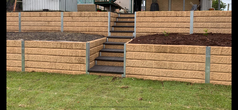 Retaining Walls Constructions Brisbane — Fassifern Landscaping