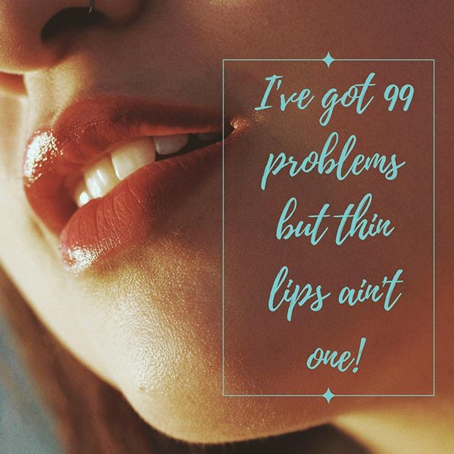 Lip Probs? ⠀⠀ Double tap on this post if you've got 99 problems but thin lips ain't one. 👄 ⠀⠀ Post a note below if the lips are one and we can help. 👄 ⠀⠀ . . . #plumplips #voluma #luscious #aesthetics #botox #antiageing #thread #beauty #laugh #wrinkles #morningcoffee #pout #lipenhancement #kyliejennerlips #lipaugmentation #medicalaesthetics #moto #cosmetic #fulllips #quote #lipplump #mornings #qotd #aesthetic #cosmetics #greatwork #injection #lipfiller  #infiniteskinbeautyandwellness