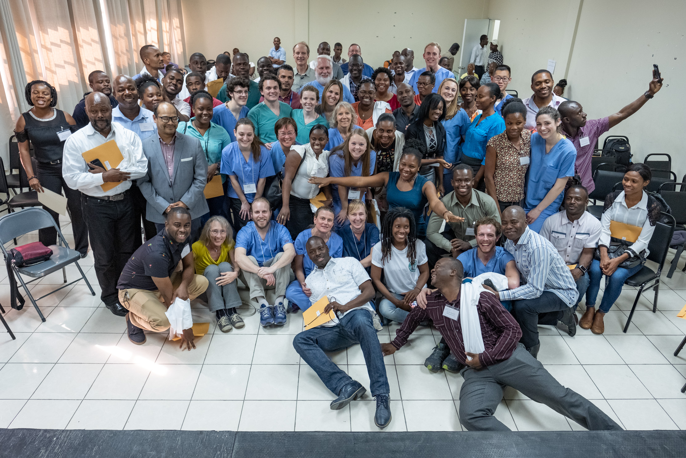 The NYAGI Team wraps up a week of hands-on ultrasound training for medical providers from many regions of Haiti.