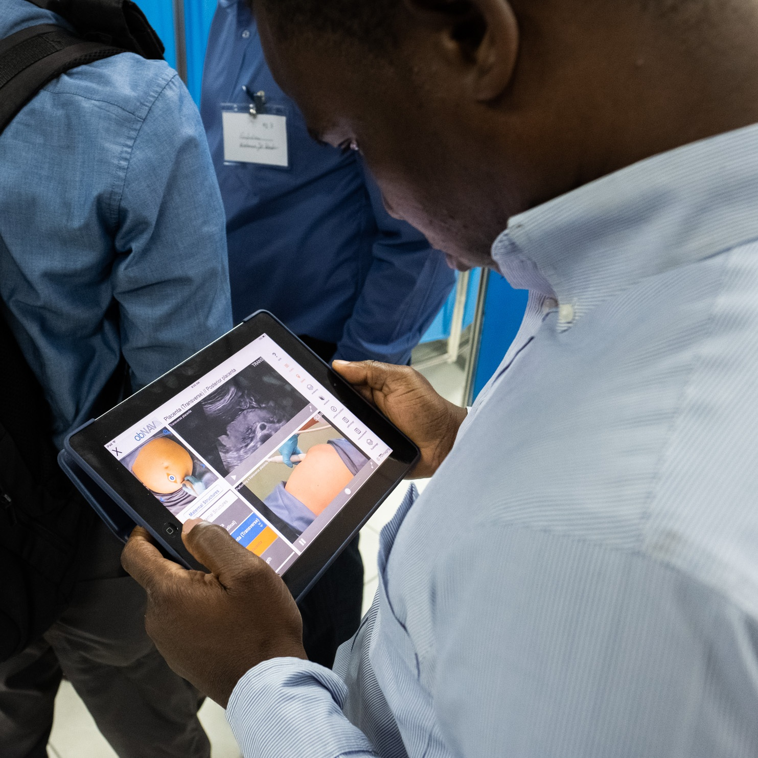 An old iPad from Boulder, CO, saving lives in Haiti.