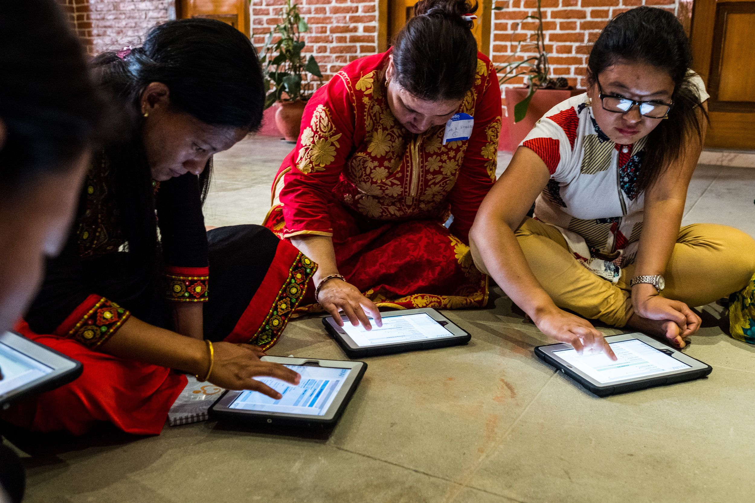 Skilled Birth Attendants (SBAs) in Nepal, continue their education using 7D Imaging's obNAV™ innovative software, accelerating the learning process. The repurposed donated, pre-owned iPads can be geotracked, creating connections around the globe.