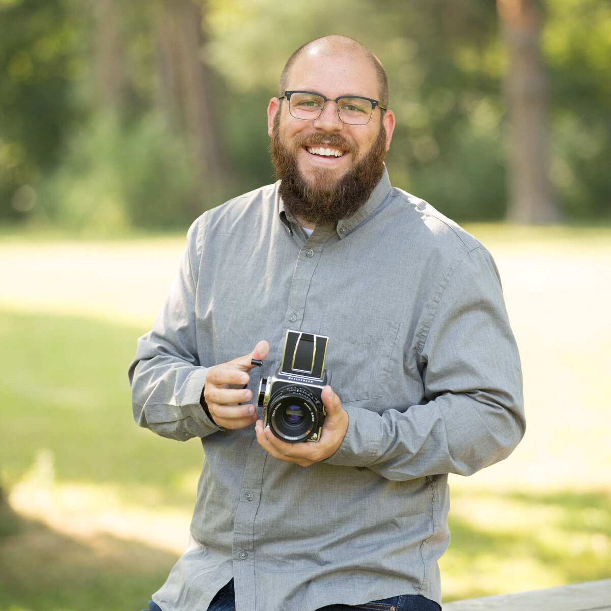 Bryan Caporicci, photographer and CEO of Sprout Studio